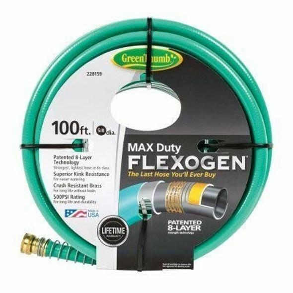 "Green Thumb, 5/8"" x 100', Max Duty, Flexogen Hose"