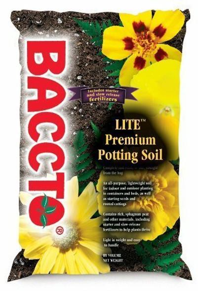 Baccto Lite Premium Potting Soil, 8 Quart