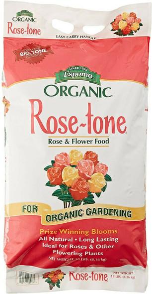 Espoma Organic Rose-tone Rose & Flower Food, 18 Lbs