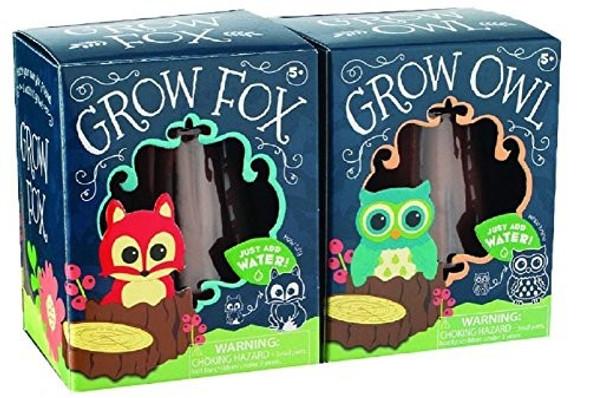 Toysmith Grow Fox or Owl
