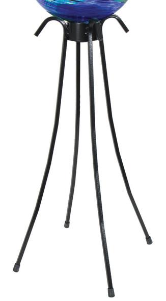"Echo Valley Low Profile Gazing Globe Black Stand 25"" H X 17"" Wide"