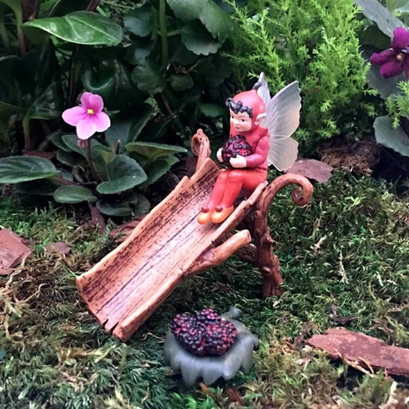 Flower Fairies Secret Garden Fairies (#FF1006B) Mulberry Fairy, Limited Edition