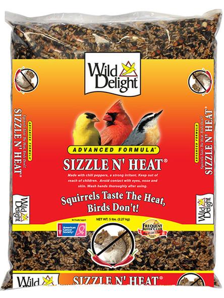 Wild Delight Sizzle N' Heat Advanced Formula - 5 Pound