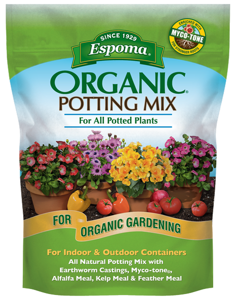 Espoma AP1 1 Cubic Foot Organic Potting Mix