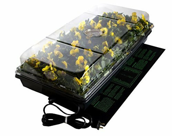 Hydrofarm Germination Station 72 Cell Tray and Dome
