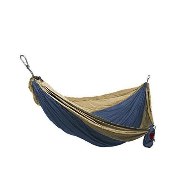 Grand Trunk Single Parachute Nylon Hammock, Olive/Khaki