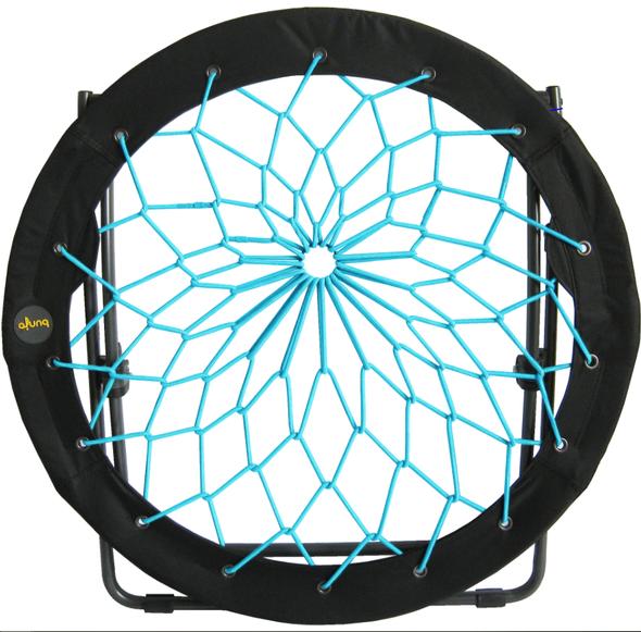 Zenithen Bunjo Bungee Dish Chair, Teal, 33 (Pack of 1)