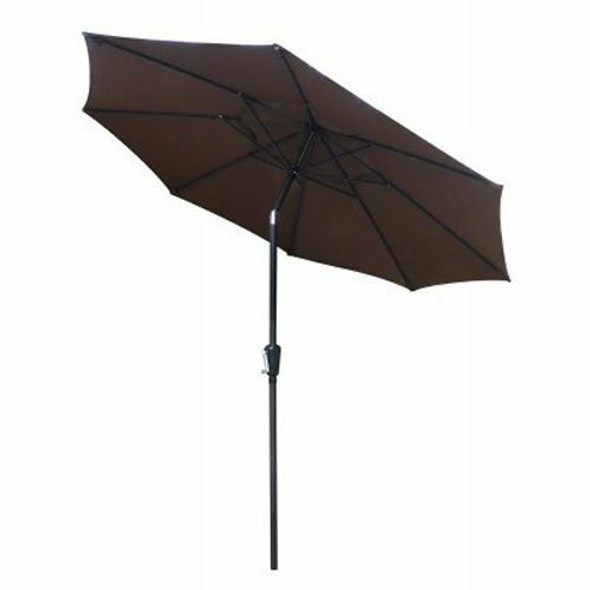 MARCH PRODUCTS FS Steel Umbrella, 9', Brown