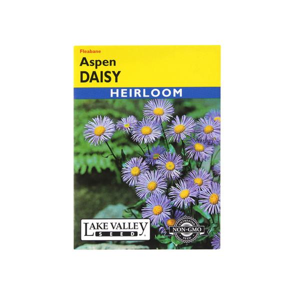 Lake Valley Seeds Daisy Aspen Fleabane Heirloom