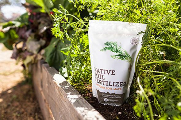 Native Soil Natural Fertilizer and Soil Conditioner (1 pound)