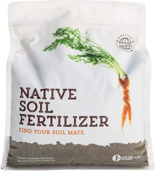 Native Soil Natural Fertilizer and Soil Conditioner (4 pound)
