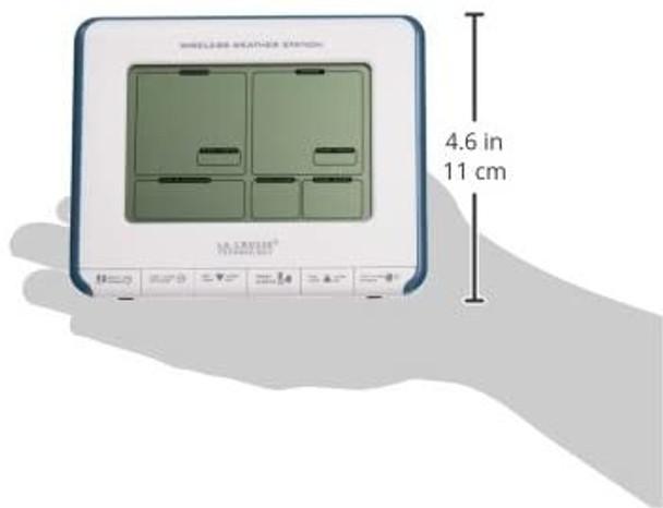 La Crosse Technology 308-1711BL Wireless Weather Station w// Heat Index//Dew Point