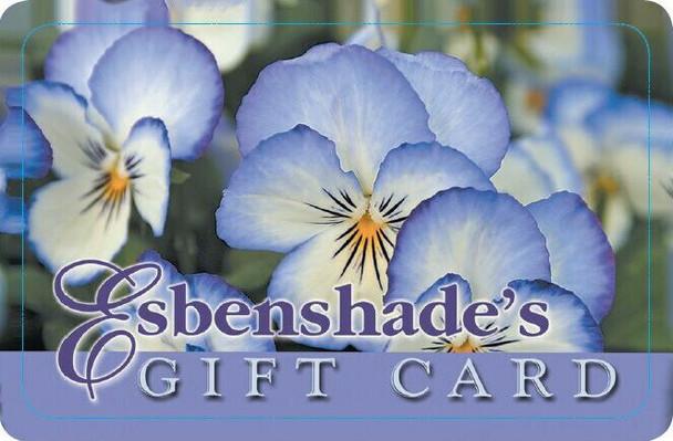 Esbenshade's In Store Gift Card