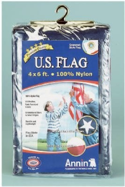 Annin Flagmakers 002215R 4 x 6-Ft. Nylon Replacement U.S. Flag