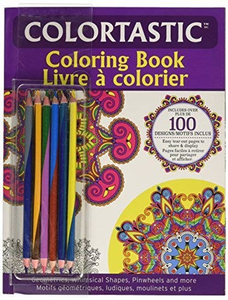 Emson Div Of E Mishon 9960 Coloring Book for Adults