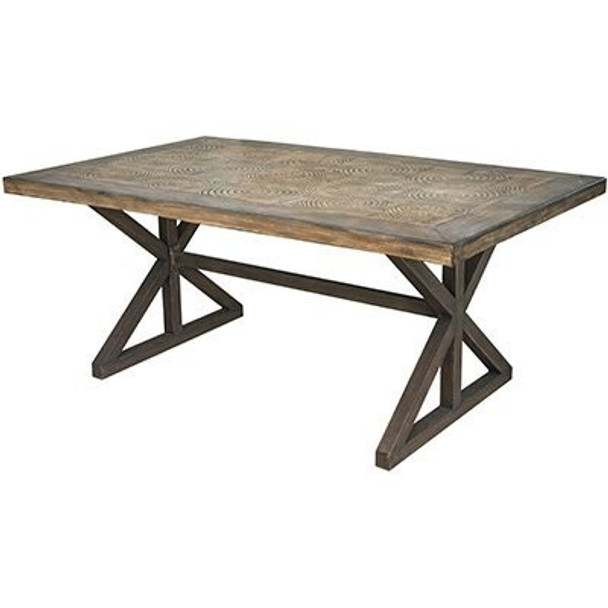 Bond Manufacturing Aspen Dining Table, 40 x 68 x 28 inches