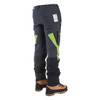 Contrast Zero chainsaw pants Side Back