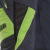 Grey/Green Zero chainsaw pants side view