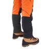 Clogger Orange Zero Lower back leg
