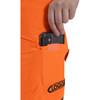 Clogger Hi-Vis Orange Zero Women's Chainsaw Pant - Zoom Phone Pocket
