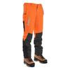 Hi-Vis Orange Zero Men's Chainsaw Pant - Side