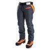 Clogger Zero Chainsaw Chaps calf protection  side view 2