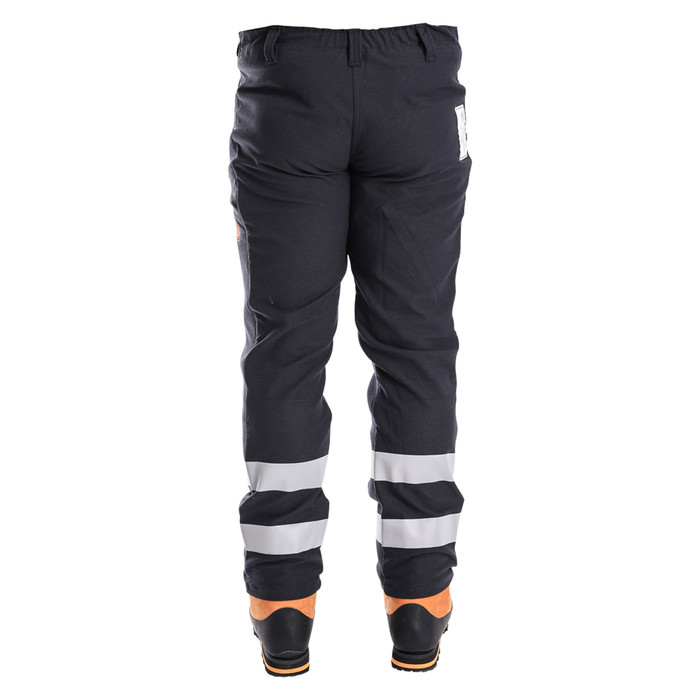 Arcmax Premium Arc Rated Fire Resistant Women's Chainsaw Pants Back View