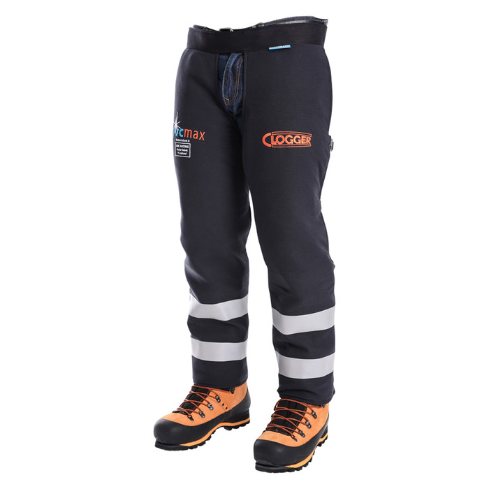 Arcmax Gen3 Arc Rated Fire Resistant Chainsaw Chaps Right Front View