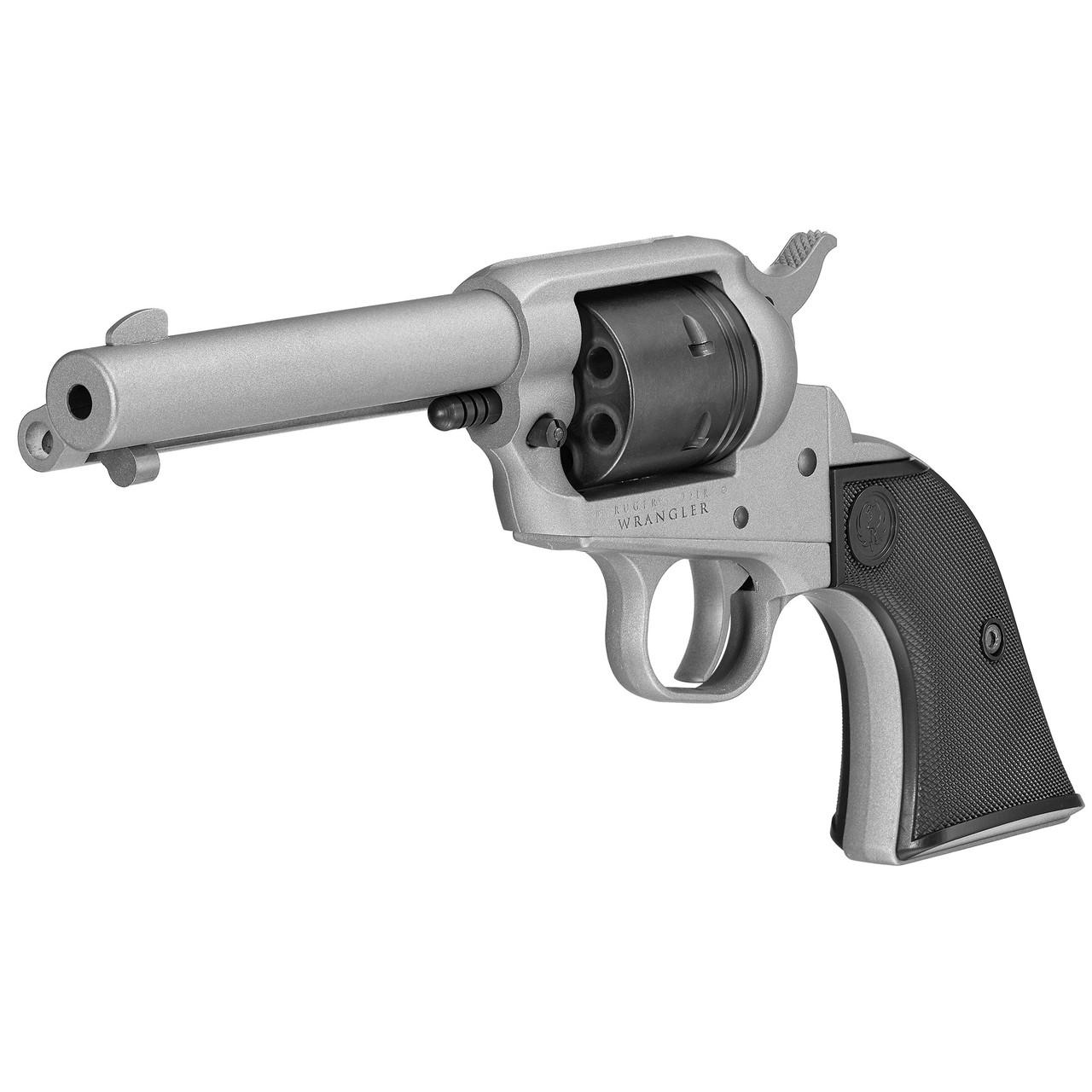 "Ruger 'Wrangle"" .22lr Single Action Revolver Silver"