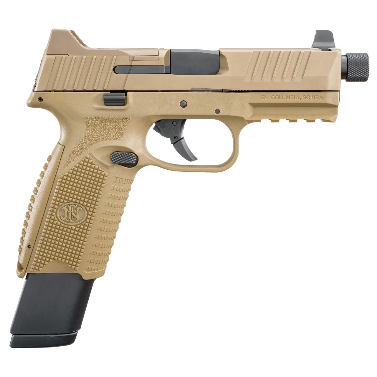 """FN 509 Tactical  4.5"""" 9mm 24rnd FDE"""