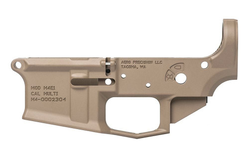 Aero Precision M4E1 Stripped Lower Receiver FDE
