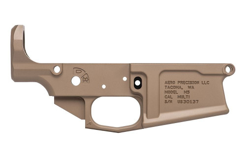 Aero Precision M5 Stripped Lower Receiver FDE