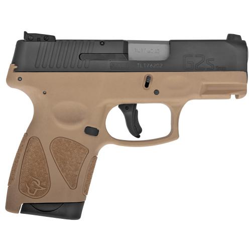 "Taurus G2S 9mm 3.25"" 7rd Sub Compact FDE"