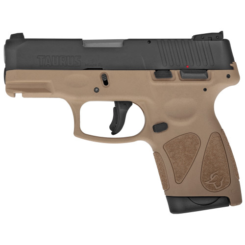 "Taurus G2S 9mm 3.25"" 7rd Sub Compact FDE"