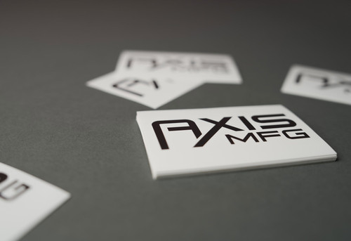 "AXIS MFG 3"" x 2"" Decal"