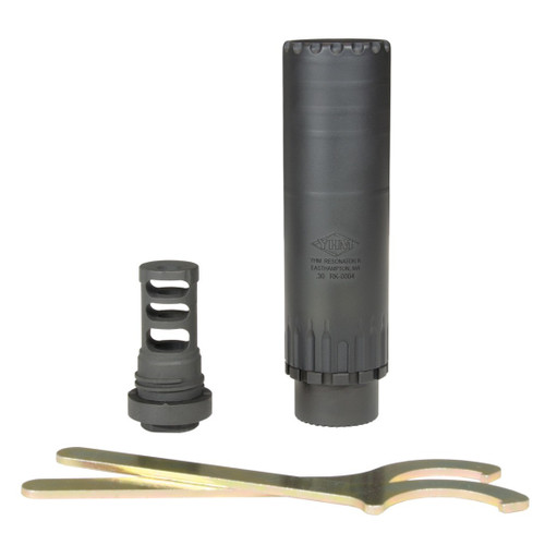 YHM Resonator K 30 cal. Suppressor W/Muzzle Brake