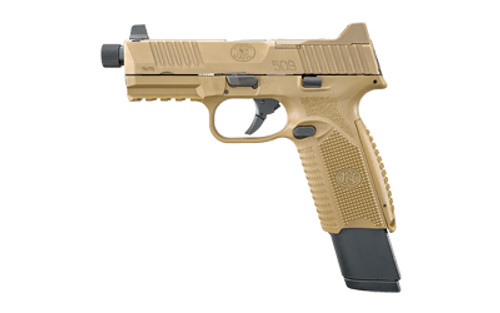 "FN 509 Tactical  4.5"" 9mm 24rnd FDE"