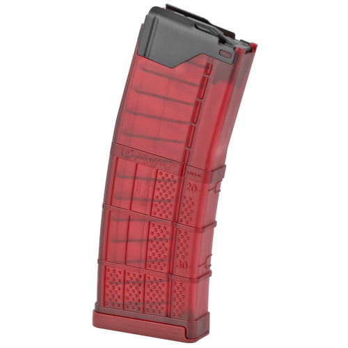 Lancer L5AWM30 Trans. RED 30rd Magazine