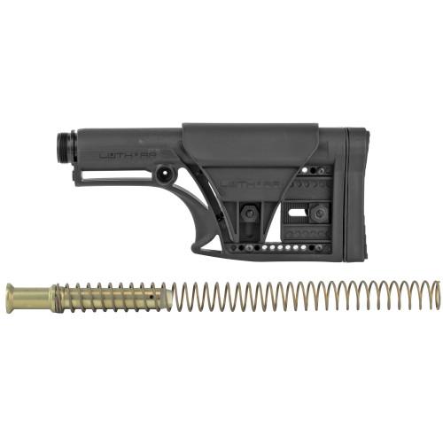 Luth-AR MBA-1 AR10 Rifle Stock Kit Black
