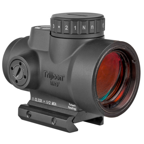 Trijicon MRO HD Red Dot 1X25  68MOA Circle With 2MOA Center Dot Black Finish, Low Mount