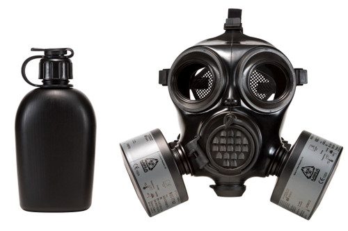 MIRA Safety CM-7M Military Gas Mask - CBRN Protection Military Special Forces, Police Squads, and Rescue Teams (MED SIZE 2)
