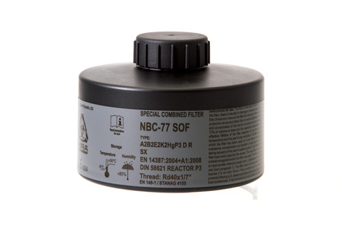 MIRA Safety NBC-77 SOF 40MM Filter