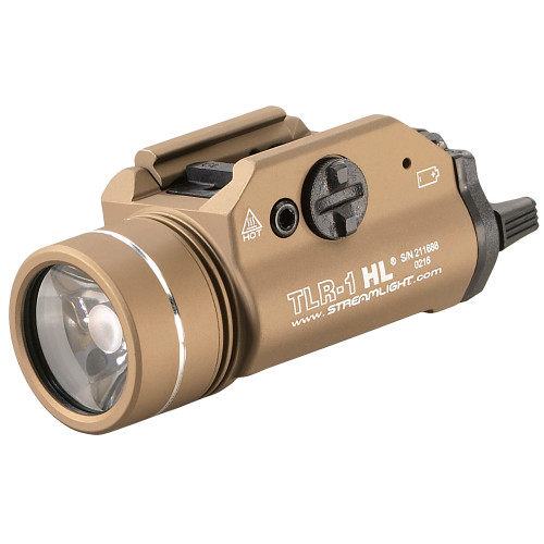 Streamlight TLR-1 HL 1000 Lumens Tactical Light FDE