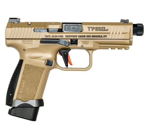 CANiK TP9 ELITE COMBAT 9MM Pistol/Optic Ready