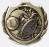 Tennis Burst Medal