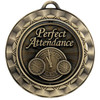 Perfect Attendance Spinner Medal