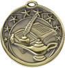 Lamp of Knowledge Star Medal