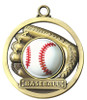 Game Ball Baseball Medal