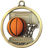 Game Ball Basketball Medal