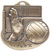 Star Blast Volleyball Medal